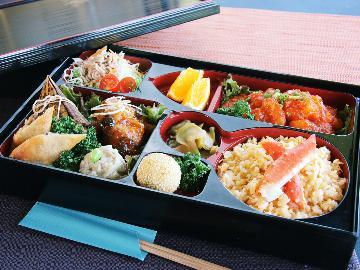ボリュームたっぷり《中華御膳》&選べる朝食(和食or洋食)夕食はコテージでも食べられます♪[1泊2食]