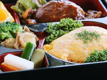 お子様にもうれしい《洋食御膳》&選べる朝食(和食or洋食)夕食はコテージでも食べられます♪[1泊2食]