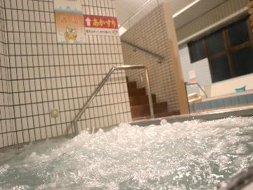 【素泊り】スーパー銭湯併設の宿♪8種類のお風呂が楽しめる~日々の疲れをリフレッシュ!