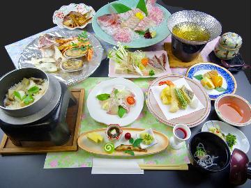 ≪淡路☆春グルメ≫脂がのった桜鯛が美味しい!【津名ハイツ★鯛まつり会席】