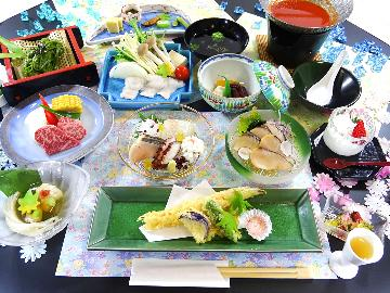 【御食国会席】食材の宝庫、淡路の贅沢のすべてがここに。美味な「食」をお楽しみください。