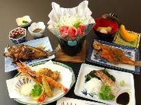 【平日◆8,800円(税込)!リーズナブル】つるだ旦那厳選★大満足海鮮コース!1泊2食付