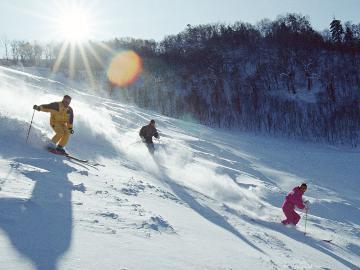 【共通リフト券付】みなかみ町のスキー場で使える1日リフト券付★1泊朝食付