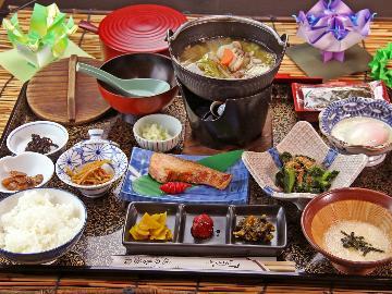 【旅籠】4つの鳴子の源泉が楽しめる♪朝食は一汁三菜の和定食、「義経膳」をご用意!【朝食付】