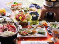 ≪山の和会席≫地物満載・炊き立て釜飯と茨城ブランド肉~季節と共に移ろう味覚と美肌の湯~