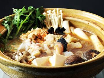 <GoToトラベルキャンペーン割引対象>【冬季限定】これぞご当地食材!茨城が誇る東の鍋の横綱「あんこう」をあますことなく堪能《地酒特典付き