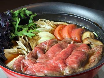 <GoToトラベルキャンペーン割引対象>【冬季限定】鍋料理人気NO.1!ブランド牛「常陸牛」のすき焼きでほっこりあたたかな冬の贅沢…。
