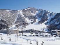 <GoToトラベルキャンペーン割引対象>【雪見旅】冬の黒姫高原を満喫♪雪景色や温かい料理&人工温泉を満喫~冬のスタンダード