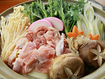 茨城県民限定【期間限定】季節の味・新そばを食べに来て♪奥久慈しゃも鍋の〆を常陸秋そばにグレードアップ!