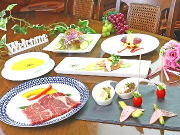 創作洋食ディナー◆ 旬を味わう、季節を彩るオーナー手作りディナー!