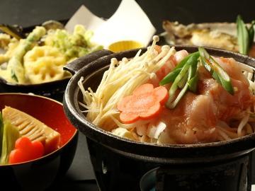 【当館 大人気♪】お野菜たっぷり!<もち豚の焼き肉>お料理グレードアップ。1泊2食付