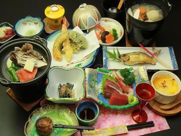 3組限定【スタンダード】貸切露天風呂付き!会津の郷土料理と源泉掛け流し温泉を楽しむ♪[1泊2食]
