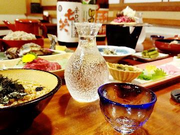 GOTO対象【選べるお酒 プラン】地酒 or イワナの骨酒(半額で提供)♪1泊2食付