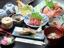 【春の信州・山菜三昧料理♪】新緑と山菜料理【貸切風呂無料】【1泊2食付】