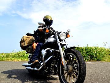 【ツーリング限定】特典付!バイクや自転車の旅★海沿いで心地よい風を感じながら!-2食付き-