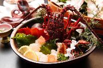 【伊勢海老付】伊勢エビをお造りで堪能◇プロ目線の本格海鮮料理に舌鼓♪