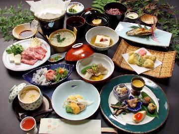 【スタンダードプラン】吉野のかくれ湯と旬の食材を味わう会席の1泊2食☆全館無料Wi-Fi☆