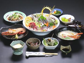 【グレードアップ1泊2食】豪華海鮮会席を愉しむ♪選べる伊勢海老料理1品付♪