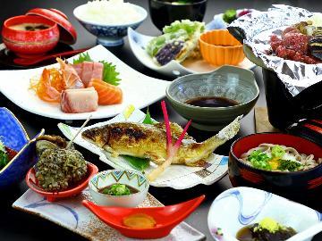 【スタンダード】信州の自然が育む新鮮な川魚と季節の食材を堪能♪食と温泉を楽しむ1泊2食プラン